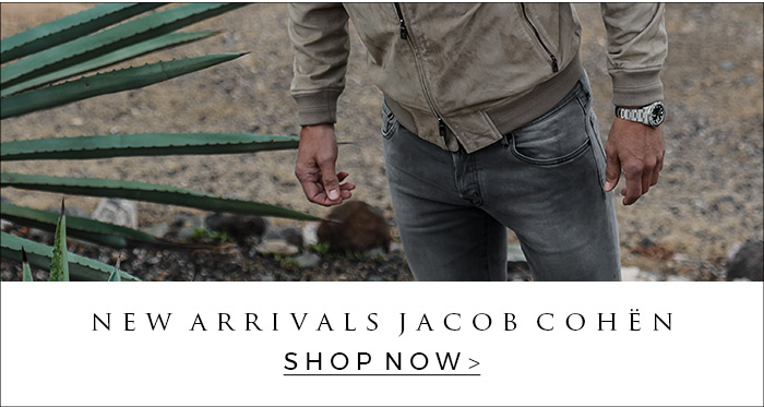 The newest Jacob Cohen jeans 620, 622, 688 and 696 are available at OGER.