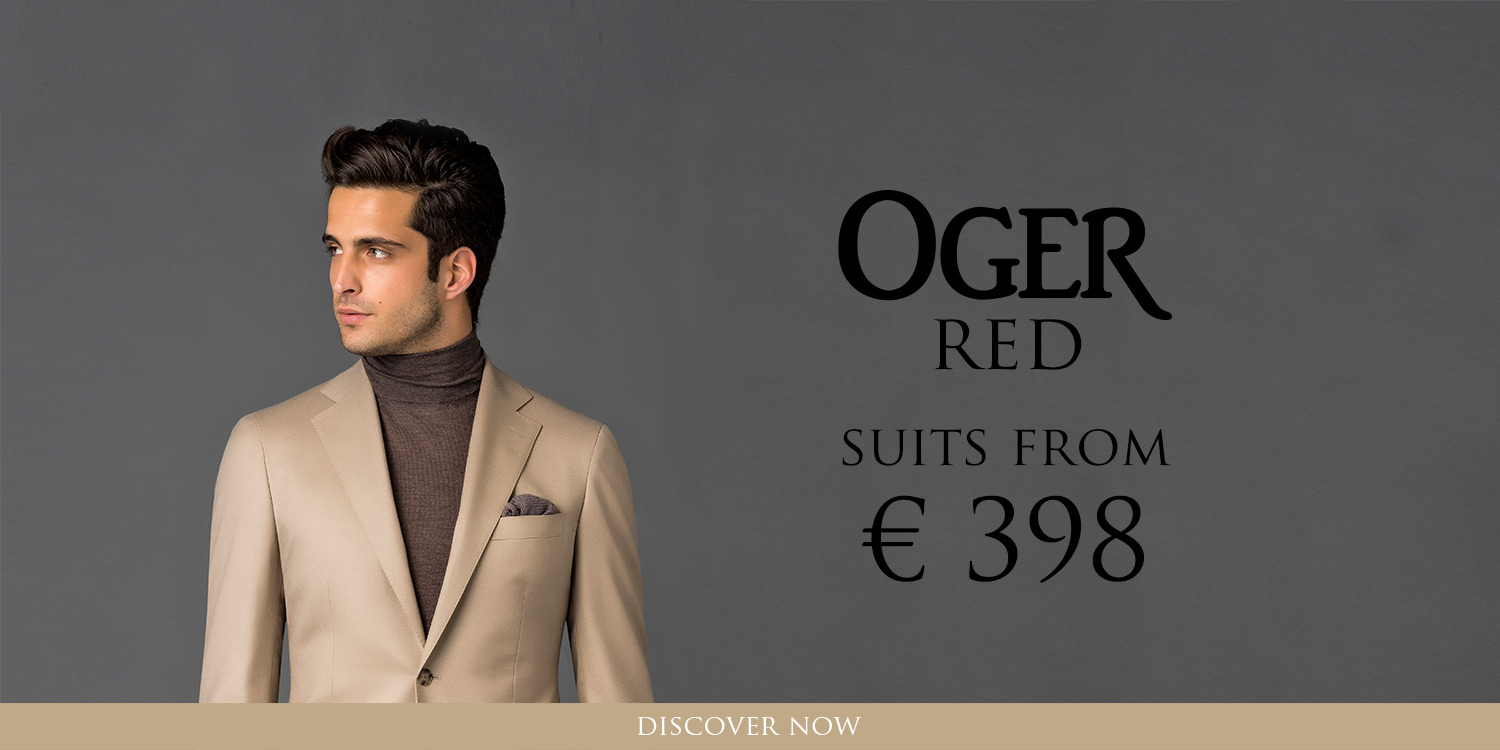 New OGER RED: suits, jackets, shirts and more clothing for men!