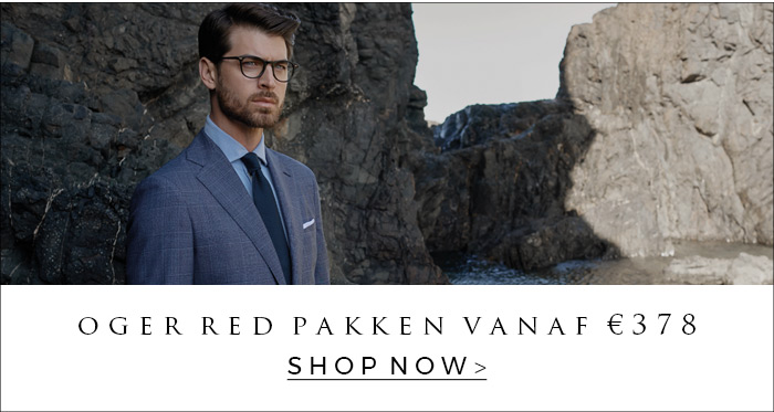 The newest OGER Red suits and shirts for men are available at OGER. Shop now.
