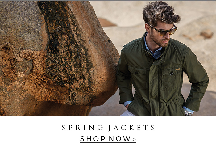 Look now our spring summer jackets for men of Moncler, Woolrich, Corneliani, ETRO and more at OGER.