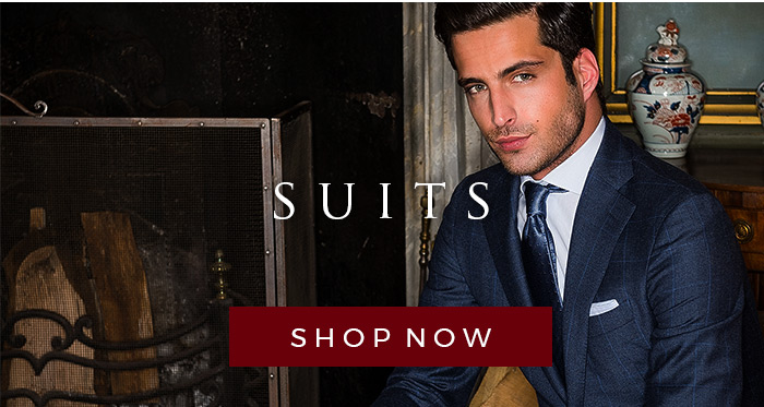 Suits from the finest Italian suit makers - check out our selection now!