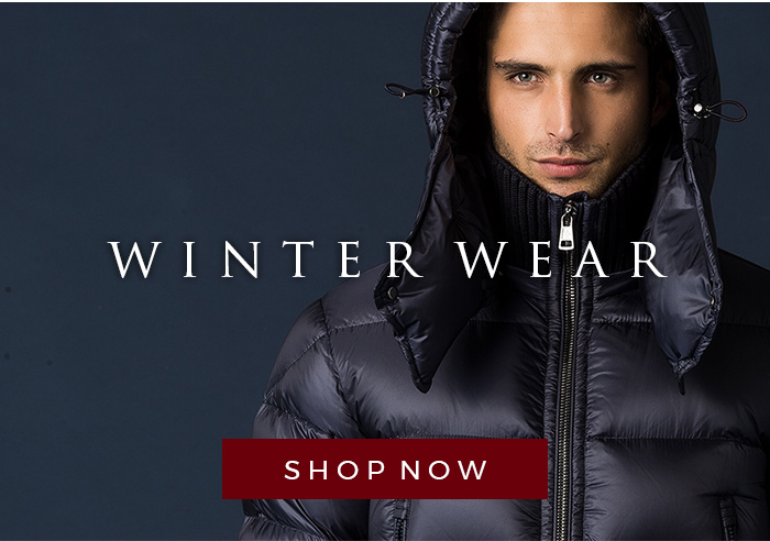 Winterwear for men - the cold snow shouldn't bother you with these items